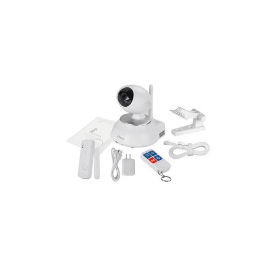 2seeU 2CU-P01 ، كاميرا مراقبة متحركة 360 درجة ، 1.5 ميجا بيكسل ، بلاستيك